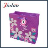 Подгоняйте бумагу цвета слоновой кости «возблагодарите вас» цветет мешок подарка покупкы бумажный