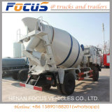 Misturador concreto do caminhão de Shacman da capacidade do tipo 9cbm de China para a venda
