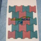 ゴム製安定したタイルは、連結の体操運動場のゴム製フロアーリングに床を張る