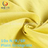 Tessuto di nylon del Grosgrain della pianura dello Spandex del rayon per l'indumento del rivestimento (GLLML222)