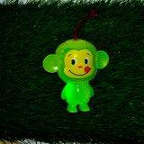 Bola que contellea del juguete animal de los productos del animal doméstico del juguete de la bola de los sonidos del mono