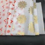 papel de tejido impreso blanco 17GSM con el certificado del Fsc