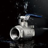 Válvula de bola 2PC 2000wog acero inoxidable Rosca