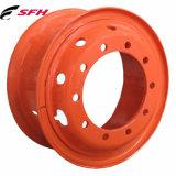 軽トラックの管のタイヤ(6.50-16、5.50-16、6.00-16)が付いている鋼鉄車輪のトレーラーの車輪の道具の車輪のレプリカの車輪6の穴