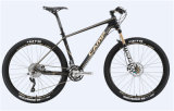 Bike ПРОФЕССИОНАЛЬНЫЕ 2.0 MTB (shimano chainwheel+FD+RD+shifter) (столб углерода frame+handerbar+stem+seat)