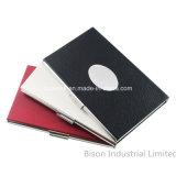 Promoção Gift Leather Business Card Holder, Business Card Holder