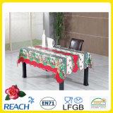 Dia do Festival de Natal de mesa de PVC / tampa de mesa de PVC