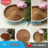 CAS 8061-52-7 amarillo café en polvo materiales refractarios calcio Lignosulphonate mezcla de hormigón aditivos calcio Lignosulfonate Construcción