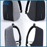 Zaino impermeabile del taccuino della carica del USB dello zaino del computer portatile di anti furto