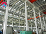 ISO及びセリウムの低価格および速いアセンブルのプレハブの鉄骨構造の研修会または倉庫