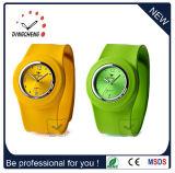 Relógio de quartzo de borracha de pulso vintage de silicone (DC-1033)