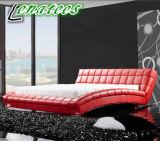 Entwurfs-Leder-Möbel-Königin-Größen-Bett der Fantasie-A059