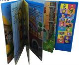 Capa dura colorida de alta qualidade catálogo de música com a impressão da caixa de Música