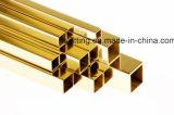 Retangular &square el tubo de latón Cuzn32