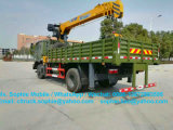 Dongfeng Militar 4X4 grúa sobre camión grúa camión articulado 3ton.