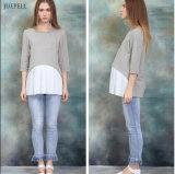 Кофточка одежды Ropa Embarazada хлопка 95% для беременных женщин