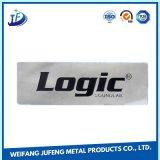 Aço da fabricação de metal da precisão do OEM que gira o carimbo de Markplate/Tag do metal/placa conhecida