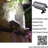 Alto potere Outdoor Lawn LED Lights di IP65 6W