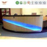 カスタマイズされたカラーFrMDF Pdの材料によって使用される現代大広間のフロントの販売