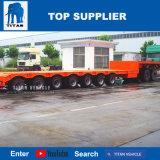 Titan 7 essieux du véhicule faible lit semi-remorque de camion