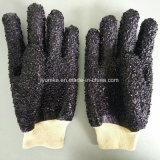 Черный Non-Slip Износостойкими масло перчатки