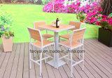 Patio Jardin Poly bois aluminium Table à manger et le Bar Président Set de meubles