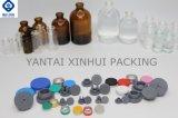 Het Flesje van het glas met RubberKurk voor Farmaceutisch Pakket