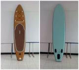 Le panneau de palette en bois de couleur Isup embarque le supp en bambou de configuration