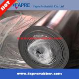 Superficiales industriales alisan/hoja de goma acabada tela de Viton/la estera de goma del suelo