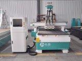 압축 공기를 넣은 3개의 헤드 목제 CNC 대패 기계
