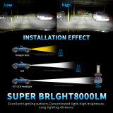 2017의 가장 새로운 차 전구 Withhigh 질 최신 LED 헤드라이트 (9006 5202 H16 H4 H11 H7)