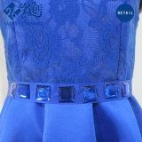 La mode faite sur commande de femmes vêtx les robes de soirée nuptiales de lacet