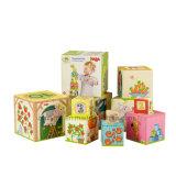 Le papier rigide estampé coloré en gros d'enfants a emboîté les boîtes-cadeau décoratives
