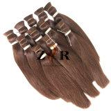 Massa dissipata doppio non trattato dei capelli umani dei capelli della Mongolia di colore di Jnatural