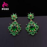 China-Fabrik-Lieferant Fany Smaragdstift-Ohrring für Mädchen