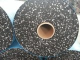 azulejo de suelo de goma colorido cómodo de 500*500m m Eco