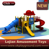 Struttura di plastica del gioco esterno dei bambini di buona qualità del Ce (X1503-7)