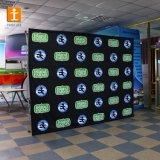 Цифровая печать ткань баннер фоне (TJ-01)