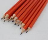 خشبيّة قلم [هب] مع برتقاليّ لون جسم طلية