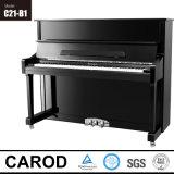 Черный чистосердечный рояль 121cm