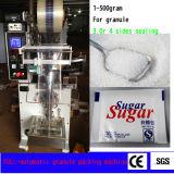 Grande machine à emballer verticale Granule avec quatre Side Sealing Pouch