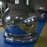 Новый раунд надувной рекламы Серебряный шар наружного зеркала заднего вида