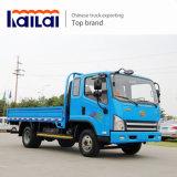 중국 FAW 4X2 빛 5 톤 화물 자동차 트럭 화물 트럭