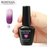 Gel UV cambiante di colore di bello dei chiodi del gel umore del polacco
