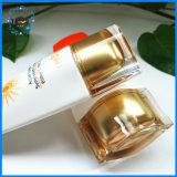 PE de Kosmetische 50ml Plastic Container van de Room van de Zon van de Fles Kosmetische