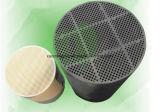 DPF de cerámica cordierita Filtro de partículas diesel para el tratamiento del gas