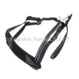 Harnais r3fléchissant de toc de ceinture de sécurité, harnais d'animal familier de sécurité