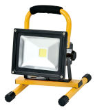 Luz de inundación recargable de iluminación al aire libre del LED Epistar LED