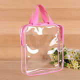 Clear Plastic PVC Modern Cosmetic Packaging Bag