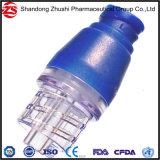 Pièces détachées Accessoires médicaux T positives de type connecteur libre, de l'aiguille de pression de perfusion IV de l'adaptateur Needleless